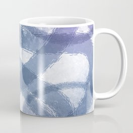 Blue Purple Watercolor Circles Coffee Mug