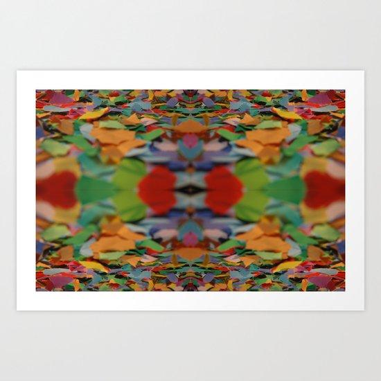 Paper field Art Print