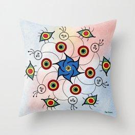 """In woman love"" (Mirdala o Mandró) Throw Pillow"