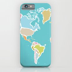 Map Print Slim Case iPhone 6s