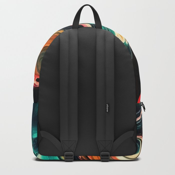 ABSTRACT COLORFUL PAINTING II-A Backpack