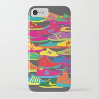 sneakers iPhone & iPod Cases featuring Sneakers by Glen Gould