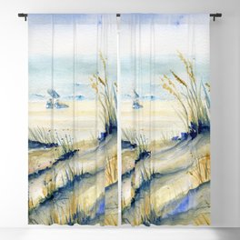 Ocean City Beach Maryland Blackout Curtain