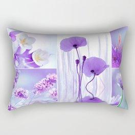Collage Spring Violet 101 Rectangular Pillow
