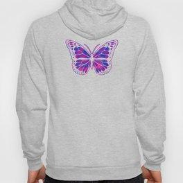 Bisexual Butterfly Streetwear Graffiti Hand Drawn Hoody