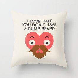 Groomed For Love Throw Pillow