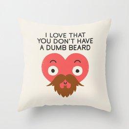 Groomed For Love Throw Pillow