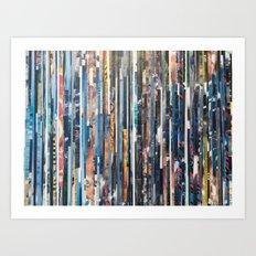STRIPES 38 Art Print