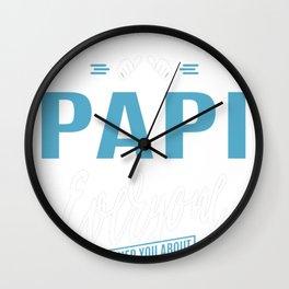 Crazy-Papi Wall Clock