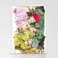 moonrise kingdom Stationery Cards featuring moonrise kingdom by jgart