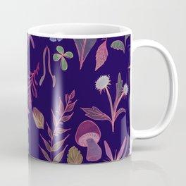 Midnight Flora Coffee Mug