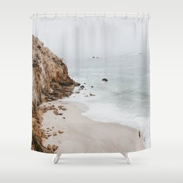 malibu coast / california Shower Curtain