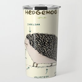 Anatomy of a Hedgehog Travel Mug