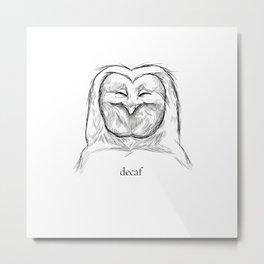 decaf Metal Print