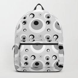 CRAZY CIRCLES GREY Backpack