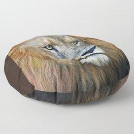 The Lion of Judah Floor Pillow