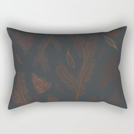 abstract pines Rectangular Pillow