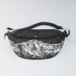 Mountain and the Moon Fanny Pack