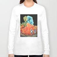 safari Long Sleeve T-shirts featuring Sorry Safari by Djuno Tomsni