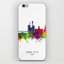 Iowa City Iowa Skyline iPhone Skin
