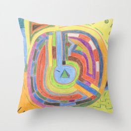 Alchemy 2 Throw Pillow
