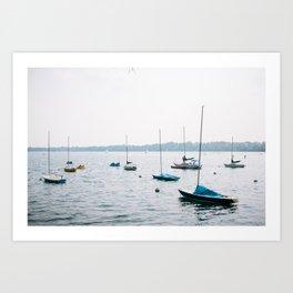 Lake Calhoun Art Print
