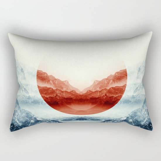 Why down the hole Rectangular Pillow