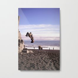 Fearless For Iceland Metal Print