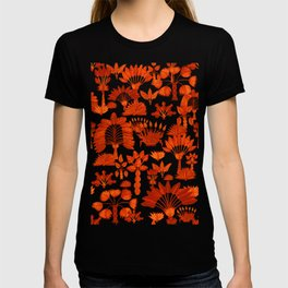 Exotic Garden - Orange T-shirt