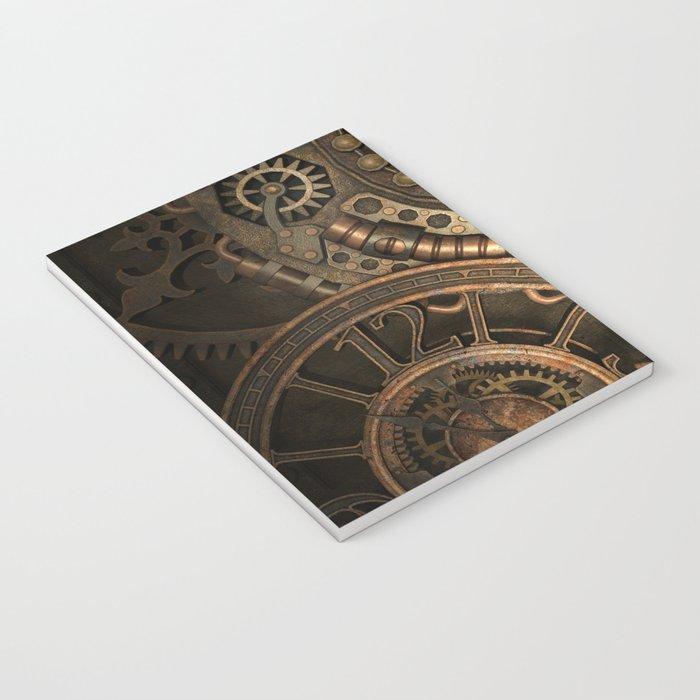 Steampunk Clockwork Notebook
