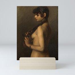 "John Singer Sargent ""Life Study (Study of an Egyptian Girl)"" Mini Art Print"