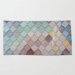 Urban Mosaic Beach Towel