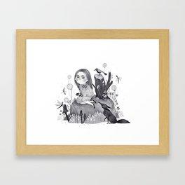 Wen Framed Art Print