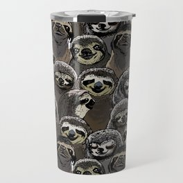 Social Sloths Travel Mug