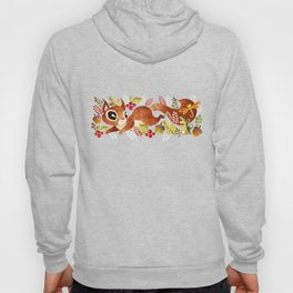 Playful Squirrel Hoody