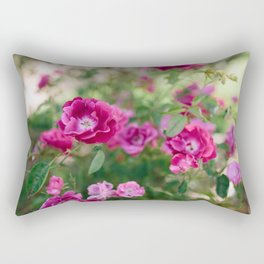 Flowers X // California Rectangular Pillow