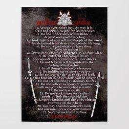 Miyamoto Musashi, Way of life Poster