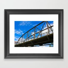 Victoria Bridge Framed Art Print