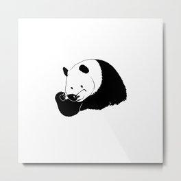 panda eyes Metal Print