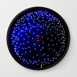 Cellular Firework Wall Clock