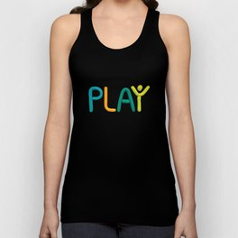 PLAY (Cool) Unisex Tank Top