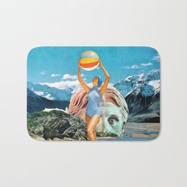Poseidon in Love Bath Mat