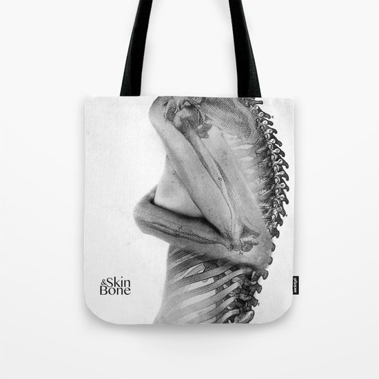 Skin & Bone Tote Bag
