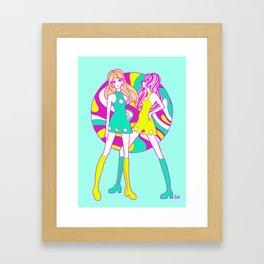 Go-Go Dollygirls Framed Art Print