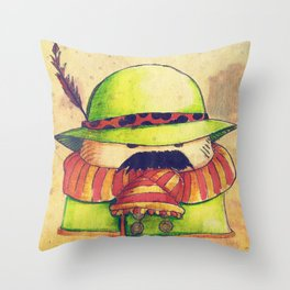 Mexalpinouboy Throw Pillow