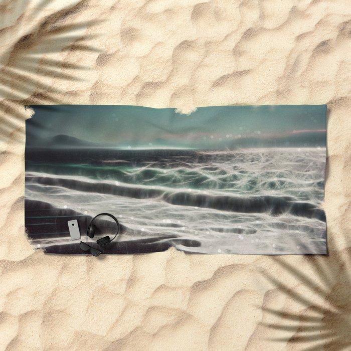 Enchanted sea Beach Towel