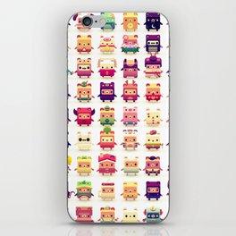 Alphabear iPhone Skin