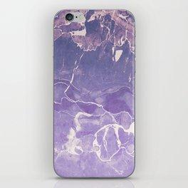 Ultraviolet Marble iPhone Skin