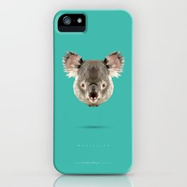 Koalafied iPhone Case