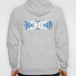 FREEDOM Scottish Flag Design Hoody